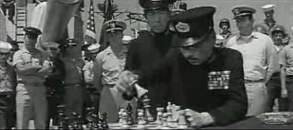 Jerry Fujikawa Barry Kelly chess schach John Frankenheimer Extraordinary Seaman, The