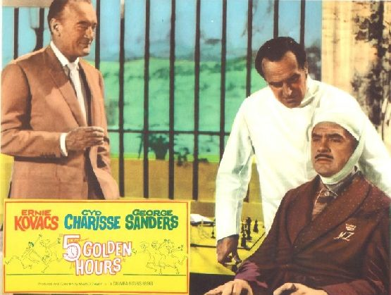 Ernie Kovacs George Sanders chess schach Mario Zampi Five Golden Hours