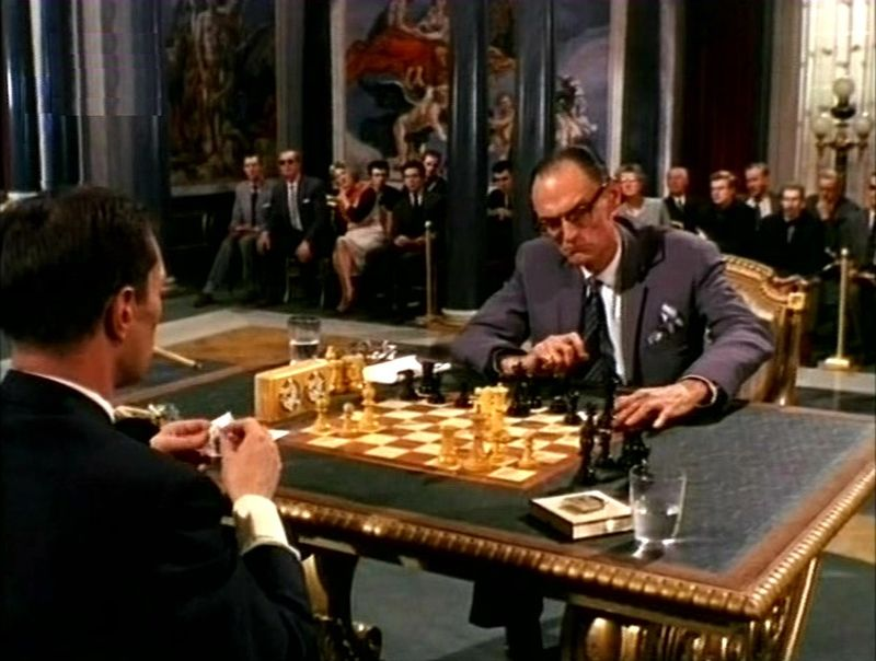 Vladek Sheybal Peter Madden chess schach Terence Young From Russia with Love