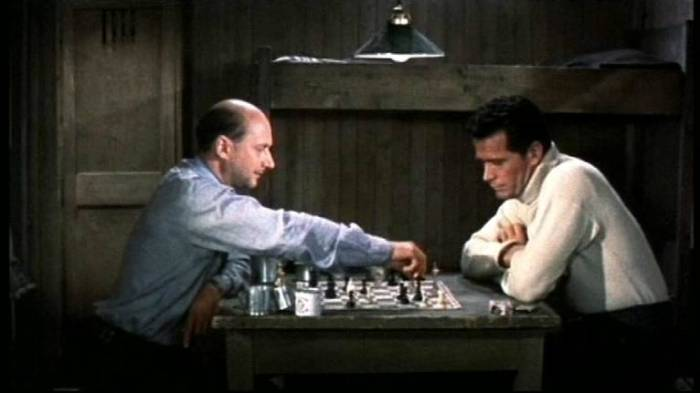 Donald Pleasence James Garner chess schach John Sturges Great Escape, The