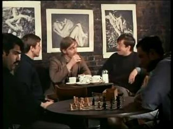 Robert deNiro chess schach Brian dePalma Greetings