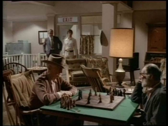 Michael Douglas chess schach David Miller Hail, Hero!