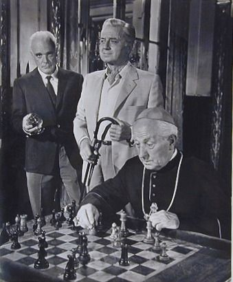 James Coburn chess schach S. Lee Pogostin Hard Contract