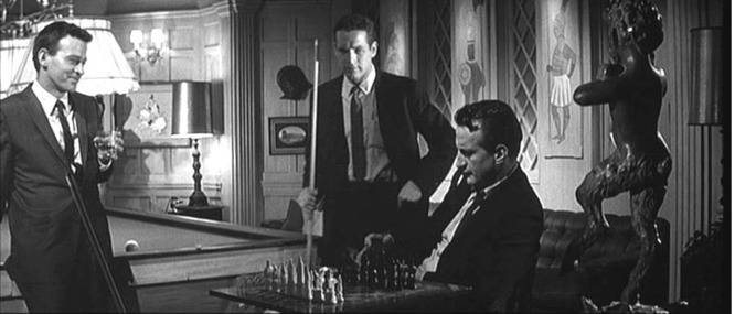Paul Newman chess schach Robert Rossen Hustler, The