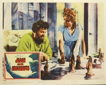 chess schach Don Chaffey Jason and the Argonauts