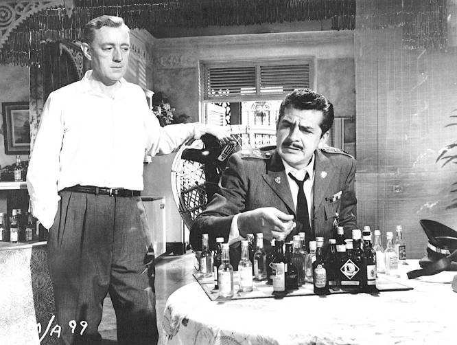 Alec Guinness Ernie Kovacs chess schach Carol Reed Our Man In Havanna