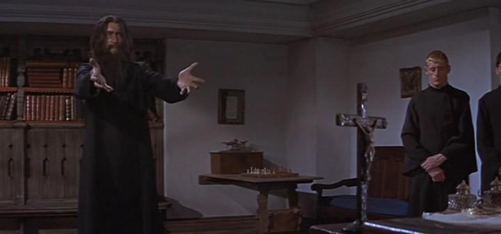 Christopher Lee chess schach Don Sharp Rasputin the Mad Monk