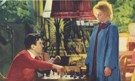 Maximilian Schell Samantha Egger Ingrid Thulin chess schach J. Lee Thomson Return From The Ashes