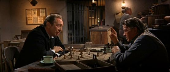 Paul Fix Sheldon Allman Jeremy Slate chess schach Henry Hathaway Sons Of Katie Elder, The