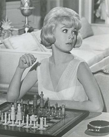 Sandra Dee chess schach Richard Thorpe That Funny Feeling