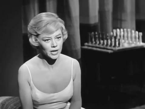 Glynis Johns Dan O'Herlihy chess schach Roger Cay Cabinet of Caligari, The
