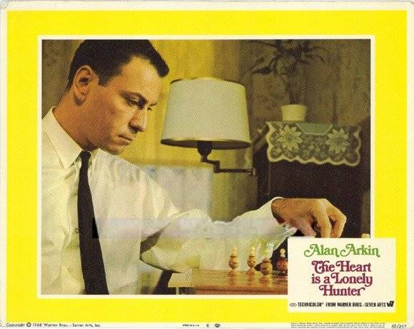 Alan Arkin chess schach Robert Ellis Miller Heart Is A Lonely Hunter, The
