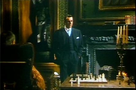 Sean Connery Ralph Richardson chess schach Basil Dearden Woman of Straw