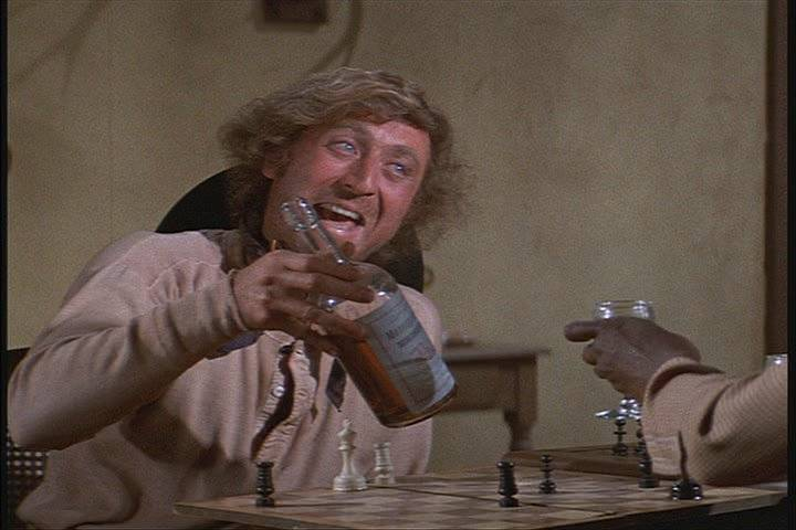 Gene Wilder Cleavon Little chess schach Mel Brooks Blazing Saddles