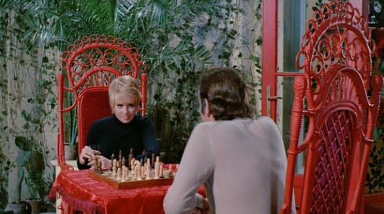 Joey Heatherton Richard Burton chess schach Edward Dmytryk Bluebeard