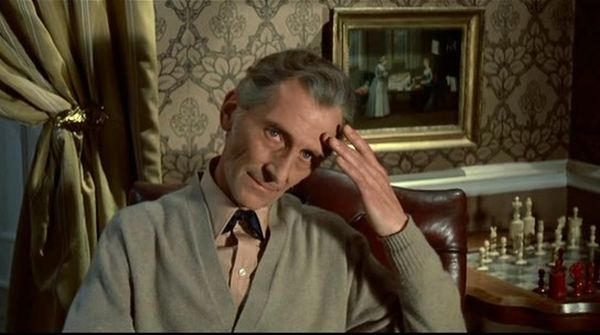 Peter Cushing chess schach Alan Gibson Dracula A.D. 1972
