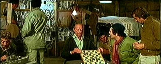 David Niven chess schach George P. Cosmatos Escape to Athena