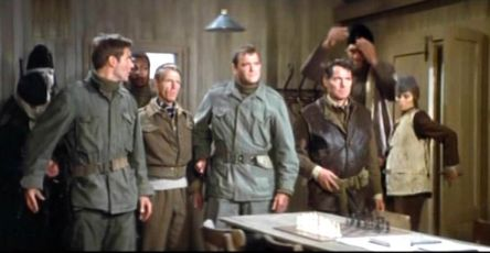 Edward Fox Harrison Ford chess schach Guy Hamilton Force 10 from Navarone