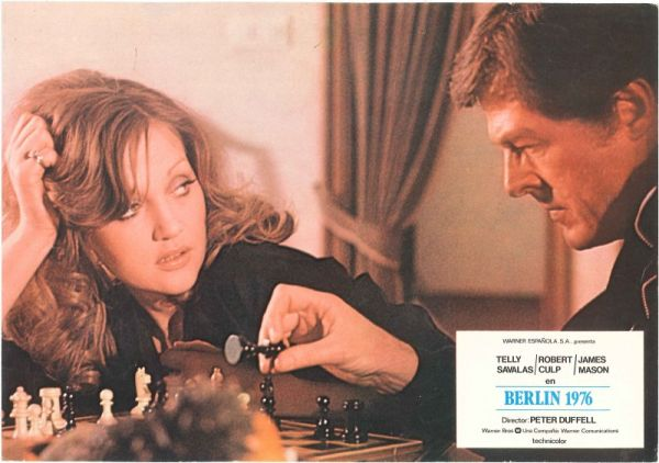 Telly Savalas Robert Culp Doris Kunstmann chess schach Peter Duffell Inside Out