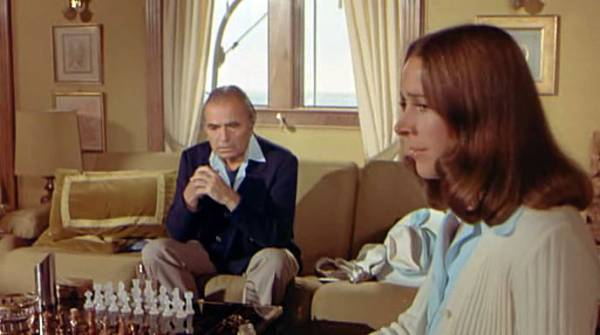 James Mason Richard Benjamin Joan Hackett Dyan Cannon chess schach Herbert Ross Last of Sheila, The