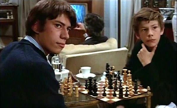 chess schach Louis Malle Soufle au Coeur, Le