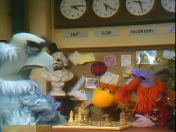 chess schach Dave Wilson Muppet Show - Sex and Violence