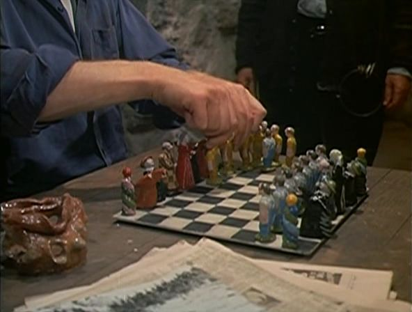 Max von Sydow chess schach Laszlo Benedek Night Visitor, The