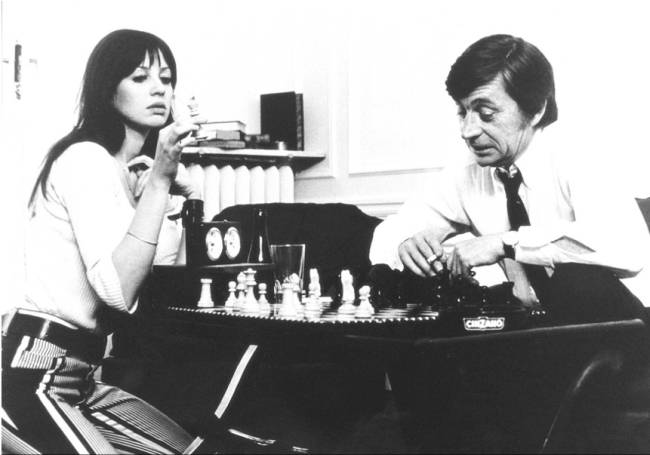 Juliette Berto Jacques Doniol-Valcroze chess schach Jacques Rivette Out 1 - Noli Me Tangere