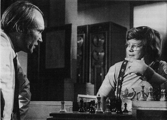 chess schach Walter Grauman Paper Man, The