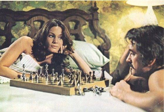 Barbara Leigh Rock Hudson chess schach Roger Vadim Pretty Maids All In A Row