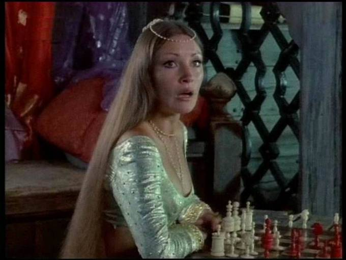Jane Seymour chess schach Sam Wanamaker Sinbad and the Eye of the Tiger