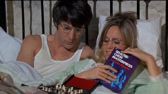Susan George Dustin Hoffman chess schach Sam Peckinpah Straw Dogs