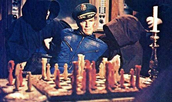 Charlton Heston chess schach Boris Sagal Omega Man, The