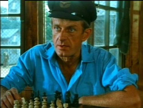 chess schach John Huston Escape to Victory