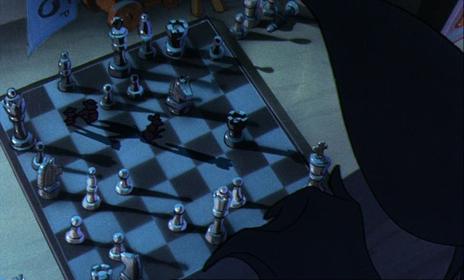 chess schach John Musker Great Mouse Detective, The (Basil)