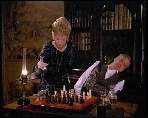 Rebecca de Mornay George C. Scott Val Kilmer chess schach Jeannot Szwarc Murders in the Rue Morgue, The