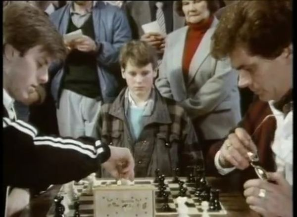 Richard Davies Duane Phillips chess schach Julian Richards Queen Sacrifice