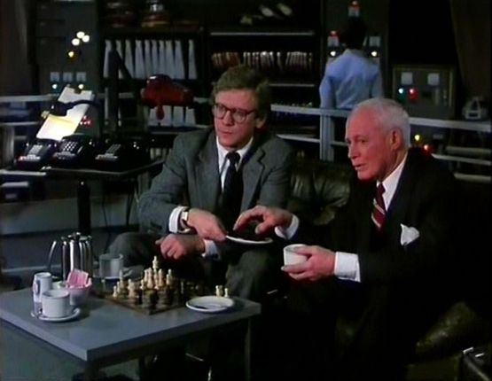 William Prince Bruce Davison chess schach John Landis Spies Like Us
