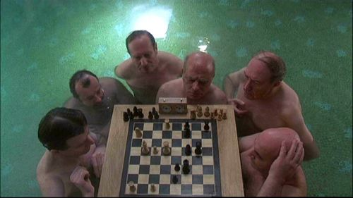 Juliette Binoche Daniel Day-Lewis chess schach Philipp Kaufmann Unbearable Lightness Of Beeing,The