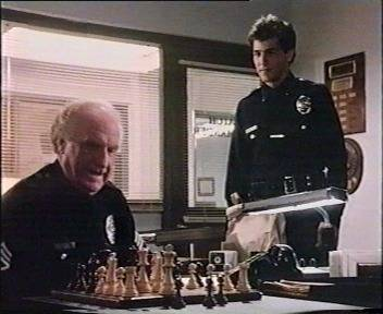 Jack Warden chess schach Gary Nelson Police Story - The Watch Commander