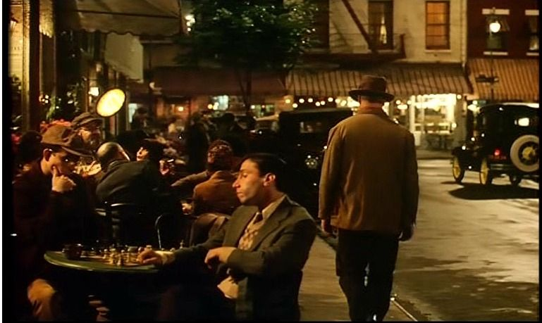 chess schach Woody Allen Bullets Over Broadway