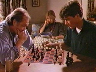 chess schach Gilbert Cates Confessions - Two Faces of Evil