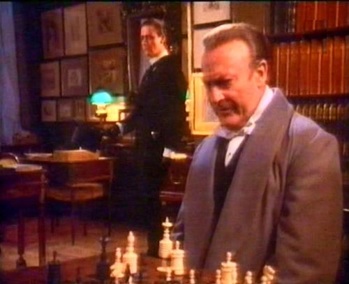Edward Woodward Anthony Andrews chess schach Stuart Orme Hands of a Murderer