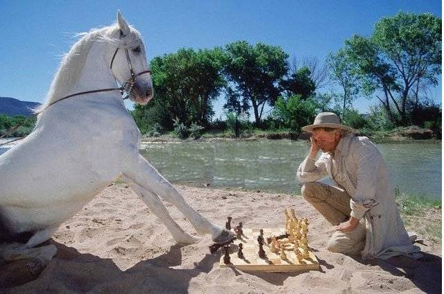 Terence Hill chess schach Terence Hill Lucky Luke