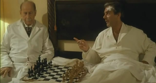 chess in the cinema chess scenes from the movie plaisir d 39 amour pierre arditi. Black Bedroom Furniture Sets. Home Design Ideas