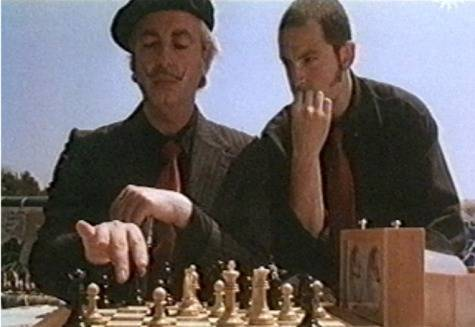 Kate Beckinsale Paudge Behan Michael Gough chess schach Jim McBride Uncovered