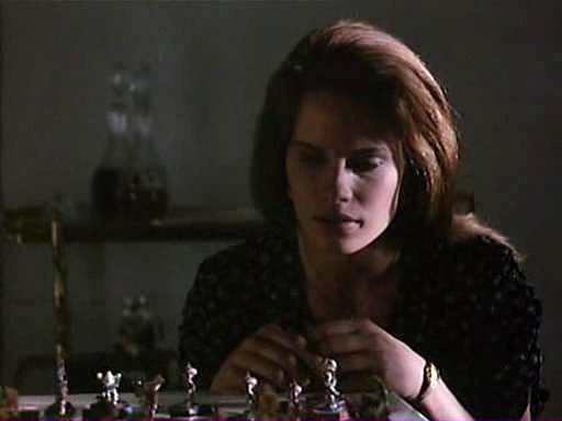 Monika Schnarre chess schach Anthony Hickox Waxwork II - Lost in Time