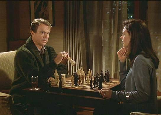Robin Williams Sam Neill Wendy Crewson chess schach Chris Columbus Bicentennial Man
