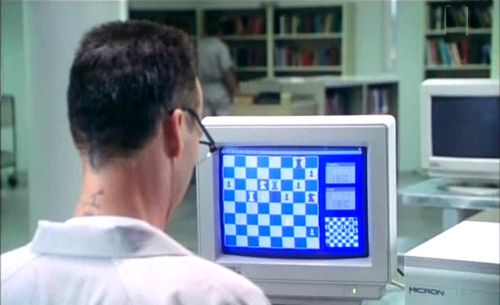 Michael Keaton chess schach Barbet Schroeder Desperate Measures
