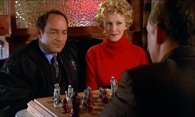 Kathryn Morris Kevin Pollak Michael Mantell chess schach Rod Lurie Deterrence
